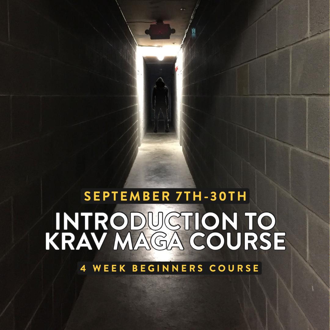 September 2021 Introduction to Krav Maga Course